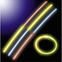 Neon-Knick Knicklichter-Set 10teilig 20cm