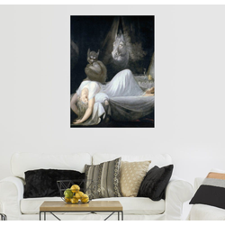 Posterlounge Wandbild, Der Alptraum 60 cm x 80 cm