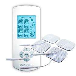prorelax TENS-EMS-Gerät 51944 Duo Comfort, 2 Therapien mit einem Gerät