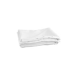 Wentex Pipes & Drapes Vorhang Satin, 3x2.5m,165g/m², weiß