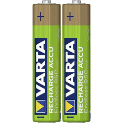 Varta Endless Ready to Use Micro (AAA)-Akku NiMH 950 mAh 1.2V 2St.