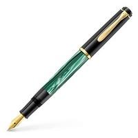Pelikan M200 Classic RH/ LH M (mittel) grün/marmoriert