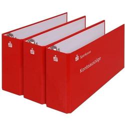 Bankordner Sparkasse (rot)