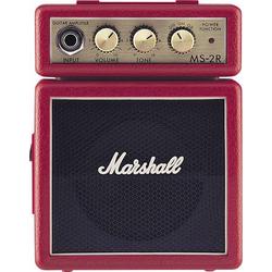 Marshall MS-2R E-Gitarrenverstärker Rot