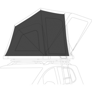 Qeedo Freedom Light 120 Thermo Tent - Thermozelt Freedom Light 120 Dachzelt