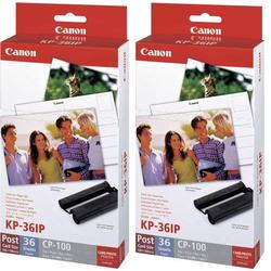 Canon KP-36IP (2x) 7737A001 Fotodrucker Kassette (Tinte/Papier) 1 Set