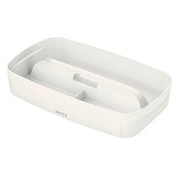 LEITZ MyBox Einsatz für Aufbewahrungsboxen 1,5 l weiß 30,7 x 18,1 x 5,6 cm