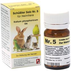 SCHÜSSLER SALZ Nr.5 Kalium phos.D 6 f.Heimtiere 200 St