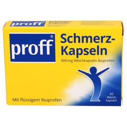 PROFF Schmerzkapseln 400 mg 20 St