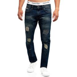 Indicode Bequeme Jeans Mcintyre blau 30/34