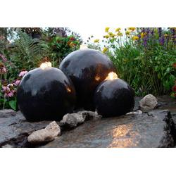 Ubbink Gartenbrunnen London, 17 cm Breite, Wasserbecken BxT: 88x88 cm