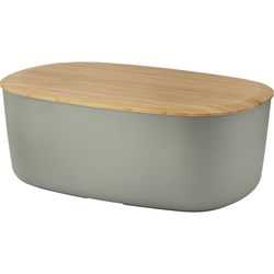 RIG-TIG Brotkasten Box-It, Melamin, Bambus, (1-tlg) grau