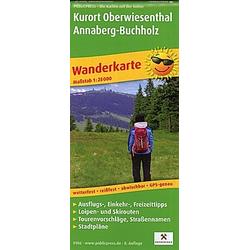 PublicPress Wanderkarte Kurort Oberwiesenthal - Annaberg-Buchholz - Buch