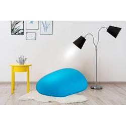 Kayoom Sitzsack Jump, (1 Stück) blau 86 cm x 87 cm x 75 cm