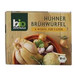 biozentrale - Bio Hühnerbrühwürfel - 6St/60g