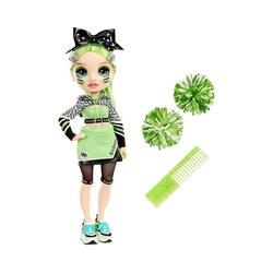MGA Anziehpuppe Rainbow High Cheer Doll - Poppy Rowan (Orange) grün
