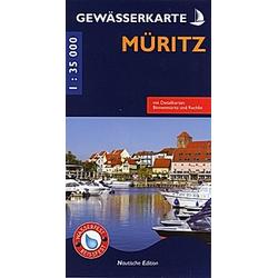 Gewässerkarte Müritz - Buch