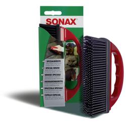 SONAX SpezialBürste zur Entfernung von Tierhaaren, Entfernt Tierhaare aus Polstern, Sitzen etc., 1 Tierhaarbürste