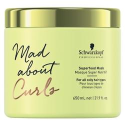Schwarzkopf Maske Mad About Curls Superfood Mask