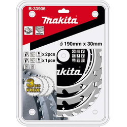 Makita B-33906 Kreissägeblatt-Set 190 x 30 x 1.4mm 1 Set