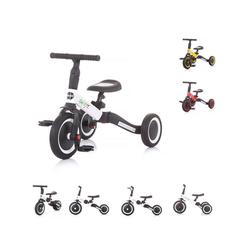 Chipolino Dreirad Dreirad Laufrad Smarty 2 in 1, Laufrad Gummireifen umbaubar Pedale verstellbar weiß
