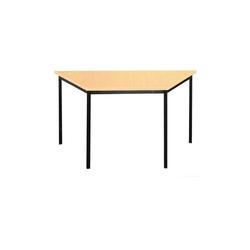 Lüllmann Schreibtisch Trapeztisch Schreibtisch - 750 x 1200 x 600 mm (1-St), Maße: 750 x 1200 x 600 mm (HxBxT) beige