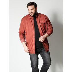 Sweatjacke Men Plus Rost
