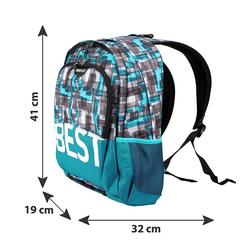 BESTLIFE Rucksack TASKU blau mit Laptopfach bis 15,6 Zoll