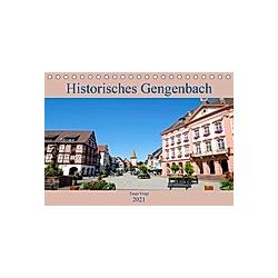 Historisches Gengenbach (Tischkalender 2021 DIN A5 quer)