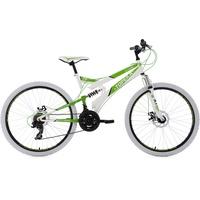 KS-CYCLING Topeka 26 Zoll RH 44 cm weiß/grün