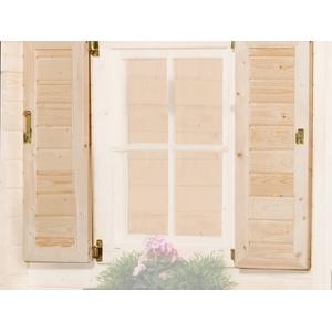 Weka Fensterladen 2-seitig für Weekendha -
