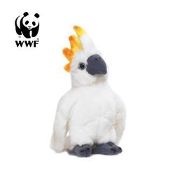 WWF Plüschfigur Plüschtier Kakadu Papagei (mit Sound, 14cm)