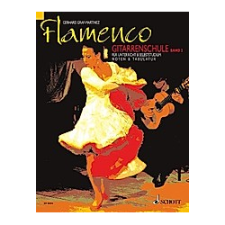 Flamenco Gitarrenschule. Gerhard Graf-Martinez  - Buch