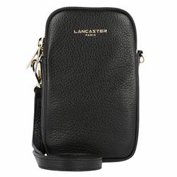 Lancaster Dune Handytaschen Leder 10 cm noir