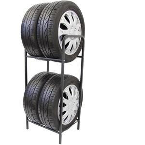 Stillerbursch Reifenregal Reifenhalter Felgenbaum Reifenständer Felgenregal für 4 Räder