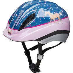 Pferdefreunde Fahrradhelm Meggy Originals rosa/blau Gr. 44-49