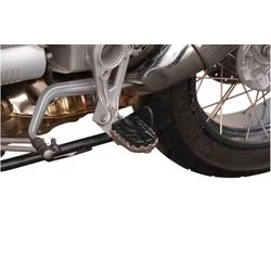 SW-Motech ION Fußrasten-Kit - BMW R1100GS (93-99) / R1200GS (04-12)., schwarz-silber