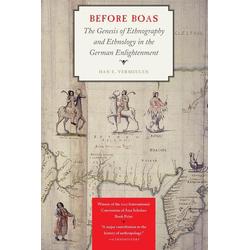 Before Boas als Buch von Han F. Vermeulen