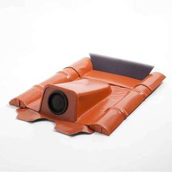 Dachdurchführung für Betondachziegel - Ziegelrot