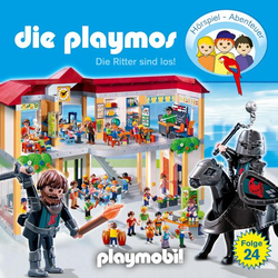 Die Playmos - Das Original Playmobil Hörspiel, Folge 24: Die Ritter sind los!