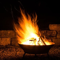 Home Deluxe Fire Bowl