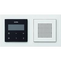 Gira Unterputz-Radio RDS 049572 reinweiß / schwarz