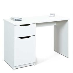 Bürotisch in Weiß 115 cm