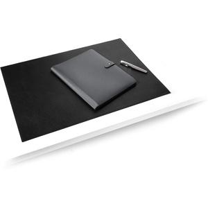 Durable 730501 Schreibunterlage aus hochwertigem (soften Leder, 650 x 450 mm, rutschfest) schwarz