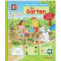 WIW Kindergarten Malen Rätseln