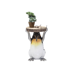 KARE Beistelltisch Beistelltisch Animal Mr Penguin 33cm