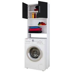 VCM my bath Jutas Waschmaschinenschrank weiß/weiß
