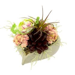 I.GE.A. Kunstblume (1 Stück) rosa Kunstblumen Kunstpflanzen Wohnaccessoires