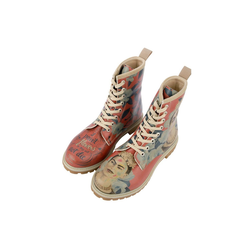 DOGO Frida Painting Stiefel Vegan 38