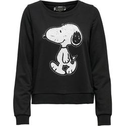 Only Sweatshirt ONLPEANUTS mit Peanuts Print L